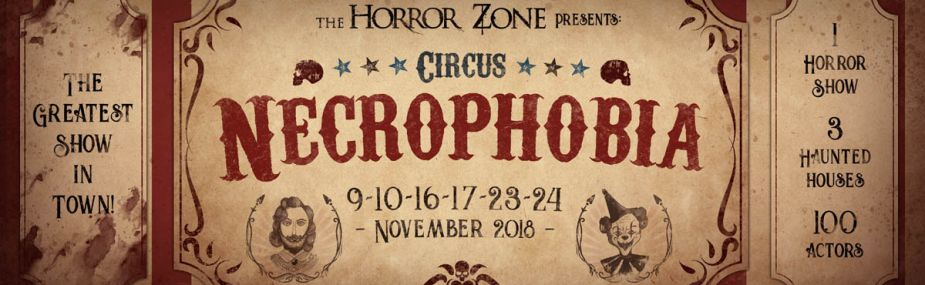 The Horror Zone presenteert Circus Necrophobia