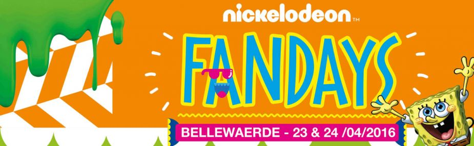 Nickelodeon Fandagen in Bellewaerde