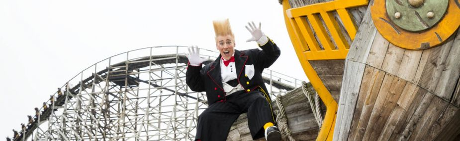 Stuntshow Bello Nock in Toverland