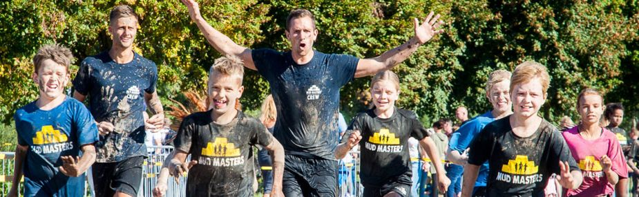 Mud Masters 'Obstacle Run' in Burgers' Zoo